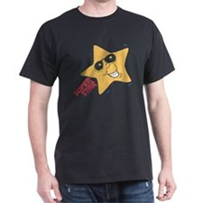 Super Star Black T-Shirt