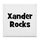 Xander Rocks Tile Coaster