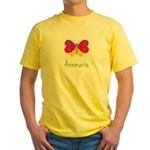 Annmarie The Butterfly Yellow T-Shirt