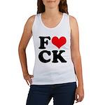 Fucking love Women's Tank Top