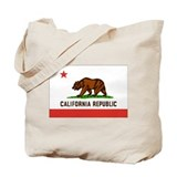 Flag of California Tote Bag