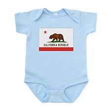 Flag of California Infant Creeper