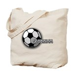 I love futbol Tote Bag