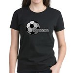I love futbol Women's Dark T-Shirt