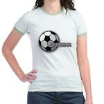 I love futbol Jr. Ringer T-Shirt