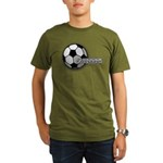 I love futbol Organic Men's T-Shirt (dark)