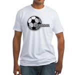 I love futbol Fitted T-Shirt
