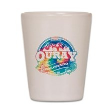 Ouray Old Circle Shot Glass