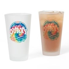 Ouray Old Circle Drinking Glass
