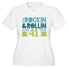 41st Anniversary Rock N Roll T-Shirt
