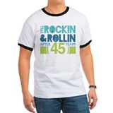 45th Anniversary Rock N Roll T