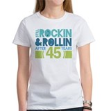 45th Anniversary Rock N Roll Tee