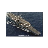USS FORRESTAL Rectangle Magnet