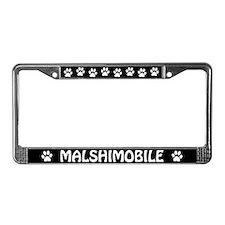 Malshimobile License Plate Frame
