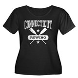 Connecticut Rowing Women's Plus Size Scoop Neck Da