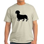 Dachshund Silhouette Light T-Shirt