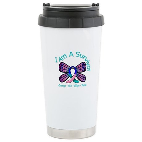Thyroid Cancer I 'm A Survivor Ceramic Travel Mug