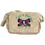 Thyroid Cancer I 'm A Survivor Messenger Bag