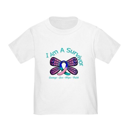 Thyroid Cancer I 'm A Survivor Toddler T-Shirt