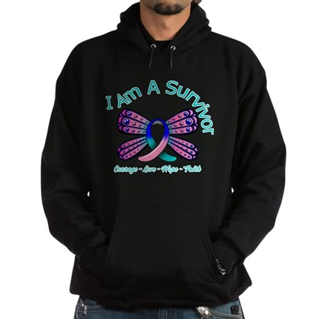 Thyroid Cancer I 'm A Survivor Hoodie (dark)