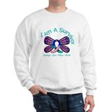 Thyroid Cancer I 'm A Survivor Sweatshirt