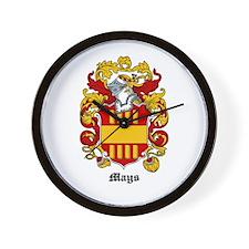 Mays Coat of Arms Wall Clock