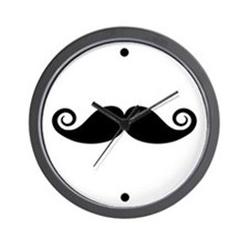 Moustache Wall Clock