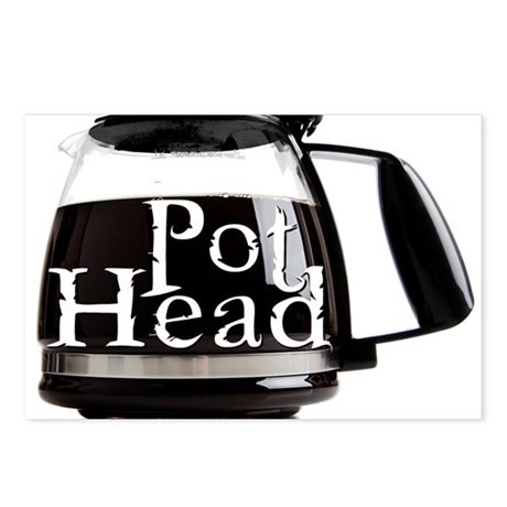 POT HEAD Postcards (Package of 8)