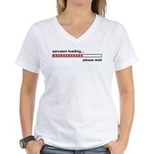 Sarcastic Comment Loading Shirt