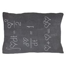 Calculating Love Pillow Case