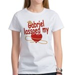 Gabriel Lassoed My Heart Women's T-Shirt