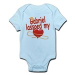 Gabriel Lassoed My Heart Infant Bodysuit