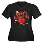 Garrett Lassoed My Heart Women's Plus Size V-Neck
