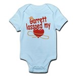 Garrett Lassoed My Heart Infant Bodysuit