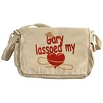 Gary Lassoed My Heart Messenger Bag