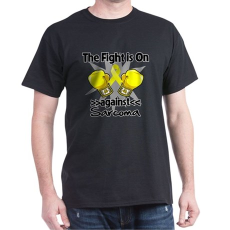 Fight is On Sarcoma Dark T-Shirt