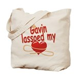 Gavin Lassoed My Heart Tote Bag