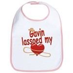 Gavin Lassoed My Heart Bib