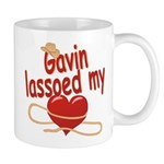 Gavin Lassoed My Heart Mug