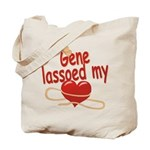 Gene Lassoed My Heart Tote Bag