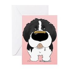 Landseer Valentine Greeting Card