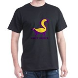 Honey Badger purple T-Shirt