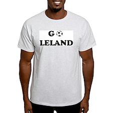 Go LELAND Ash Grey T-Shirt