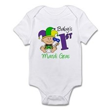 Baby First Mardi Gras Infant Bodysuit