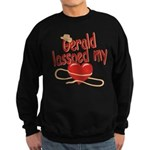 Gerald Lassoed My Heart Sweatshirt (dark)