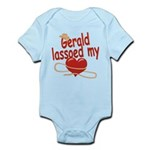 Gerald Lassoed My Heart Infant Bodysuit