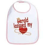 Gerald Lassoed My Heart Bib