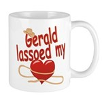 Gerald Lassoed My Heart Mug