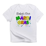 Baby 1st Mardi Gras Infant T-Shirt