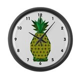 Pineapple Large Wall Clock